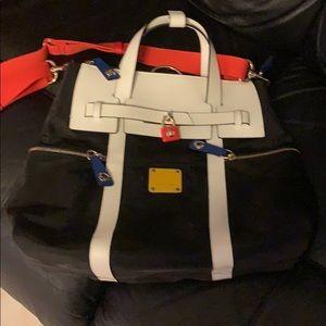 Henri Bender nylon bag/backpack